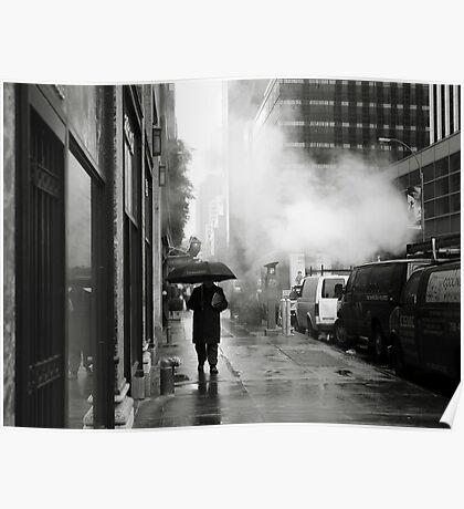 NYC: Umbrella Poster