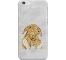 Swirly Bunny iPhone Case/Skin