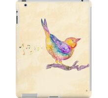 Swirly Bird iPad Case/Skin