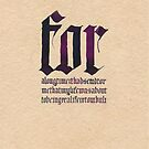 calligraphy III by Mina Marković