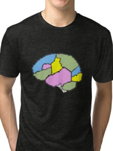 Fill in your own brain chart Tri-blend T-Shirt