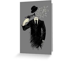 Blown Greeting Card