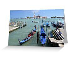 Un altro giorno a Venezia Greeting Card
