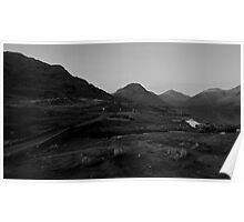 Wastwater view towards Scafell Pike - Lake District  Poster