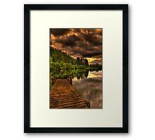 Journey Into Loch Ard Framed Print