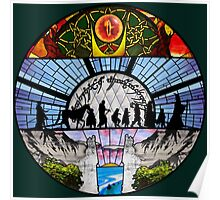 LOTR - Stained Glass Poster