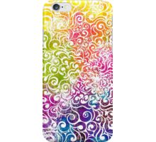 Swirly Portrait iPhone Case/Skin