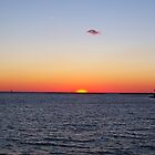 Titian sunset - Cape Charles, Virginia by starryskyy