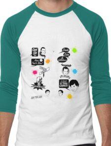 Community Quotes Men's Baseball ¾ T-Shirt