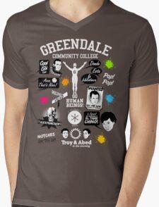Community Quotes Mens V-Neck T-Shirt