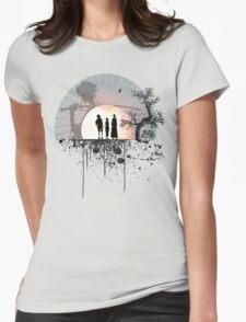 Samurai Champloo - Sunset Womens Fitted T-Shirt