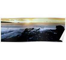 Broadhaven Panorama Poster