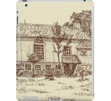 Restored Barn Home iPad Case/Skin