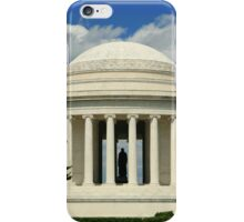 Jefferson Memorial 1679 color iPhone Case/Skin