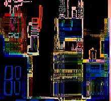 City Scape by Gary Caruthers