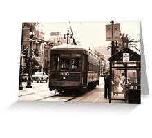 Historic City Ride Greeting Card