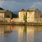 Sunlight Over The Quay. by Fara