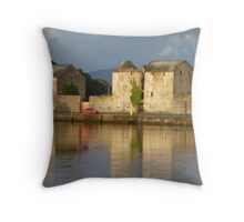 Sunlight Over The Quay. Throw Pillow