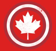 Captain Canada (White Leaf) One Piece - Long Sleeve