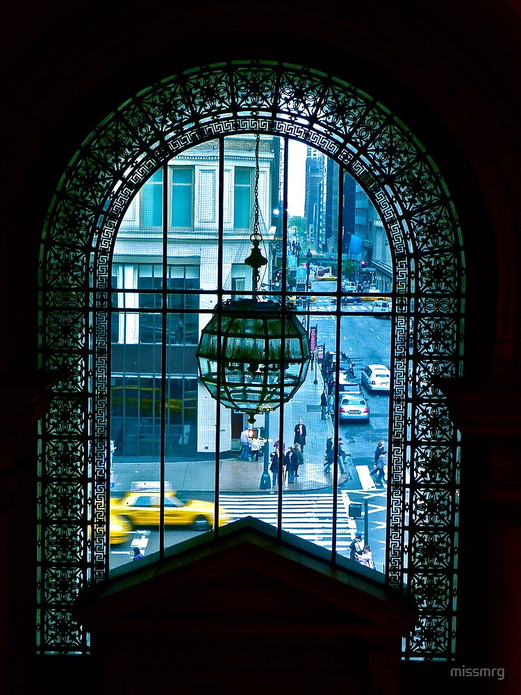 New York City through a looking glass by missmrg