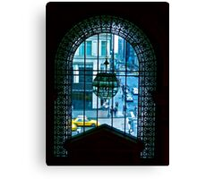 New York City through a looking glass Canvas Print