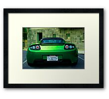 Feel The Heat Framed Print