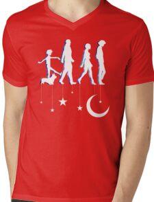 Cowboy Bebop Moonwalk Mens V-Neck T-Shirt
