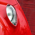 Red Grilled Ford by Usha Ganesh