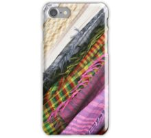 Scarves at the Market iPhone Case/Skin