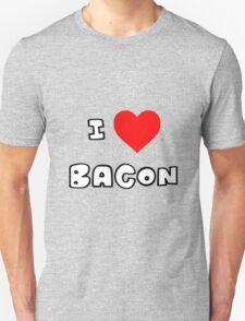 I Heart Bacon Unisex T-Shirt