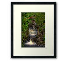 Braklinn Falls Framed Print