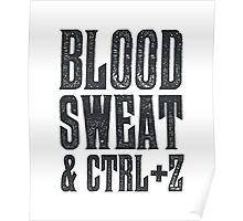 Blood, Sweat & Ctrl + Z Poster