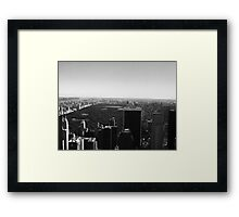 Central Park View Framed Print