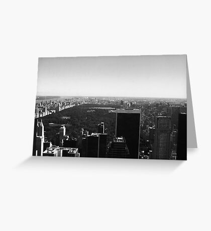 Central Park View Greeting Card