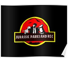 jurassic parks and rec Poster