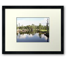 SUMMER ON BURNT MILL CREEK Framed Print