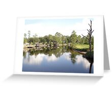 SUMMER ON BURNT MILL CREEK Greeting Card