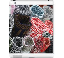 Wool Bags at the Otavalo Craft Market iPad Case/Skin