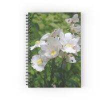 Nemesia flowers Spiral Notebook