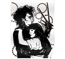 Edward Scissorhands and Kim Poster