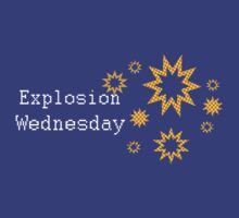 Explosion Wednesday by RoomWithAMoose