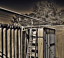 Old backyard by Gerard Rotse