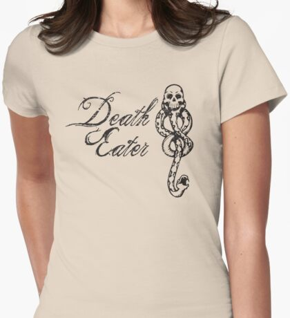 Death Eater Womens Fitted T-Shirt