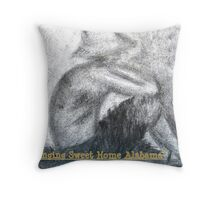 Singing Sweet Home Alabama Throw Pillow