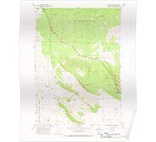 USGS Topo Map Oregon Horse Ridge 280245 1967 24000 Poster