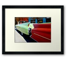 Fins are In! Framed Print