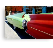 Fins are In! Canvas Print