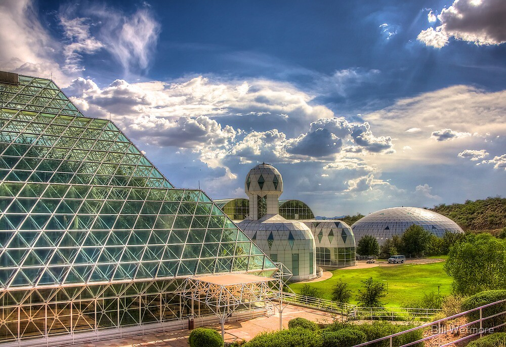 Biosphere 2 - Oracle Arizona by Bill Wetmore