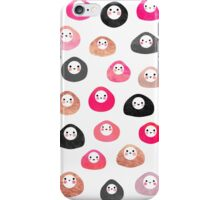 A bunch of happy blobs iPhone Case/Skin