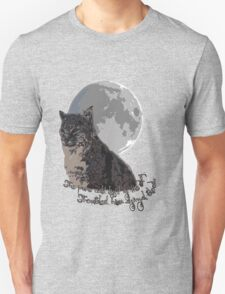 The (big) cat and the moon T-Shirt